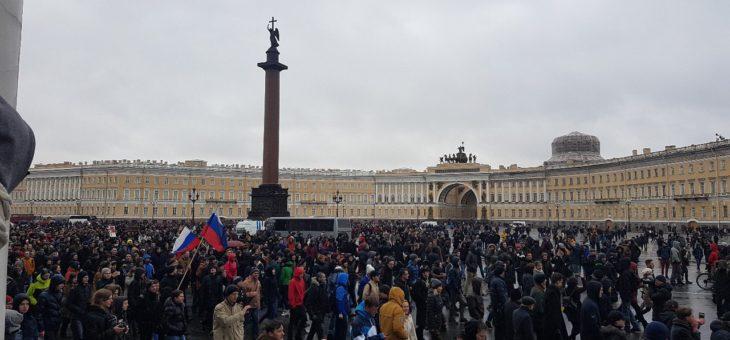 Мартовские протесты Россиян против коррупции во власти